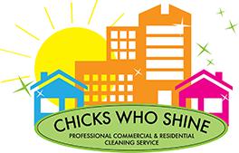 Chicks Who Shine – Serving Des Moines, Iowa Area Logo